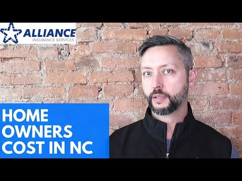 How Much Does It Cost For Homeowners Insurance In NC