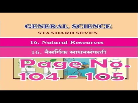 Chapter 16 Natural Resources Page No  104-105