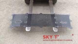 Решетка радиатора (сетка) CAMC кабина евро