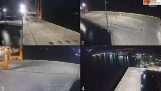 🔴Señal #EnVivo de #OPC que transmite llegada de barco con los #HospitalesMoviles // 🏗🚢🏥🇭🇳