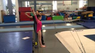 Age Group Programme – Women's Artistic Physical Ability Testing Programme - Flexibility - Exercise 8
