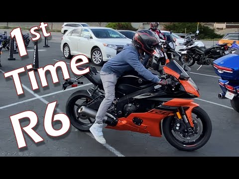 First Time On R6 | 2020 Yamaha R6 Review