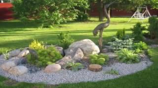 Gambar cover Como decorar tu jardín con piedras , buenas ideas!!!