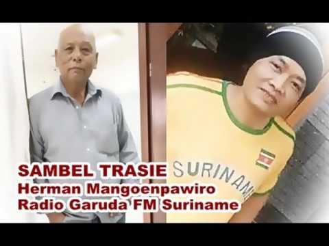 Herman Mangoenpawiro - SAMBEL TRASIE - Radio Garuda FM Suriname