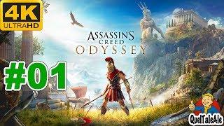 Assassin's Creed Odyssey - 4K Gameplay ITA - Walkthrough #01 - QUESTA È SPARTA