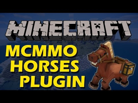 Give Your Horse Abilities And Upgrade It In Minecraft With MCMMO Horses Plugin