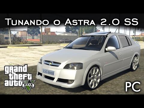 Tunando o Astra 2.0 16v SS - MOD | GTA V - PC [PT-BR]