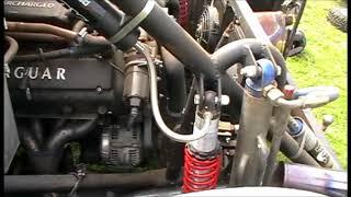 Jag/PORN supercharged V8 Engine