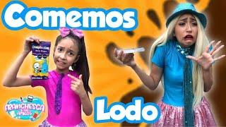 COMEMOS LODO🤢/DULCE DE TIERRA
