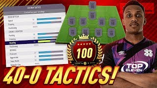 MY TOP 5 FORMATIONS, CUSTOM TACTICS & INSTRUCTIONS ON ULTIMATE TEAM! FIFA 18