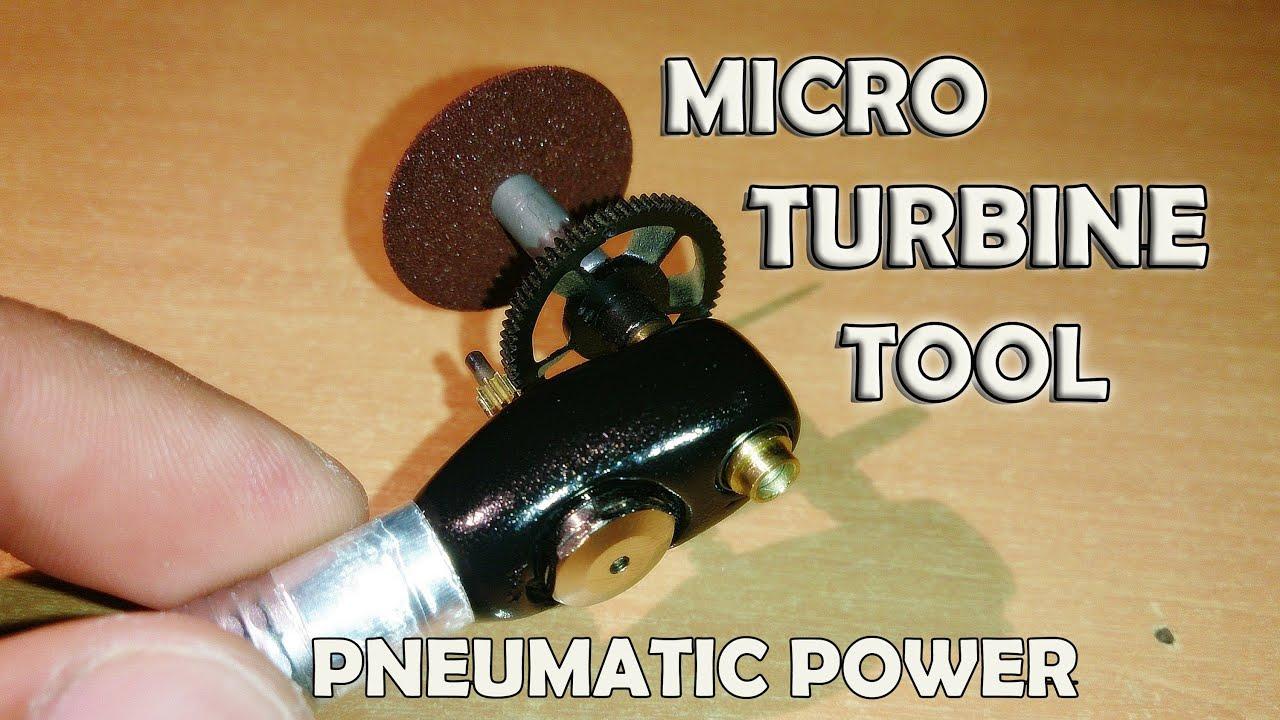 Micro Air Turbine Tool Cutter Sander Grinder