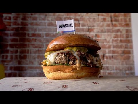 The Burger You Won't Believe is Vegan?