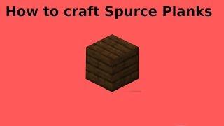 How to create Spurce Planks ?