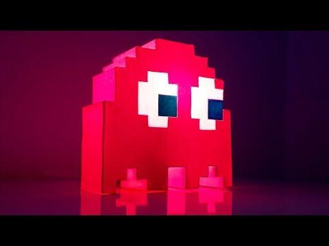 Haz Esta LAMPARA GAMER SIN DINERO *Muy Fácil*   Decoración Gamer   Pablo Inventos
