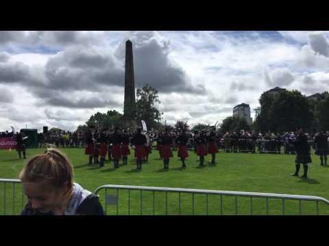 Worcester Kiltie Band World Pipe Championship