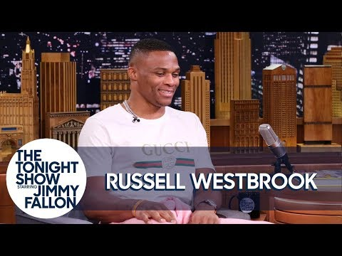 Jimmy Tries to Pull Off Russell Westbrook