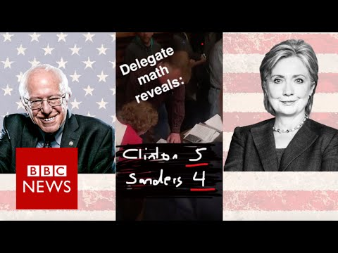 Iowa Caucus: Bernie & Hillary supporters battle it out in a barn (Snapchat) - BBC News