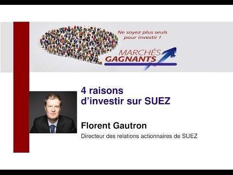 Quatre raisons d'investir sur Suez