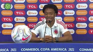 Juan Guillermo Cuadrado y Reinaldo Rueda | Conferencia de prensa
