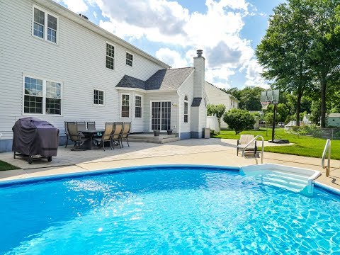 Homes For Sale Spectacular 4 BED POOL 4342 S Woodland Dr Bensalem PA 19020 Bucks County Real Estate