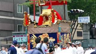 祇園祭 後祭り 山鉾巡行の「八幡山 (はちまんやま)」 thumbnail