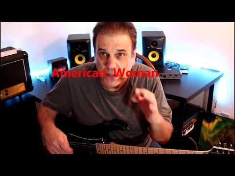 American Woman/ Easy Guitar Lesson