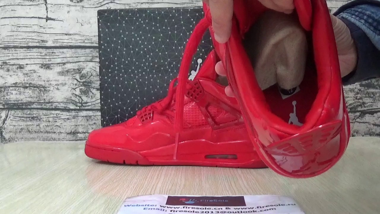 b731d574e8c44d Authentic Air Jordan 4 Retro 11 LAB4 Red from firesole.cn - YouTube