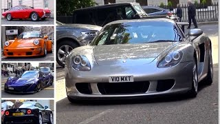 London Supercar Insanity #66 - 250Lusso, MSO 688HS, Carrera GT & More!!