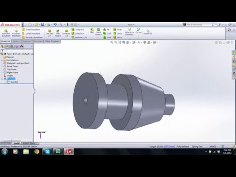 Solidworks Tutorial 2 Modifying Sketches