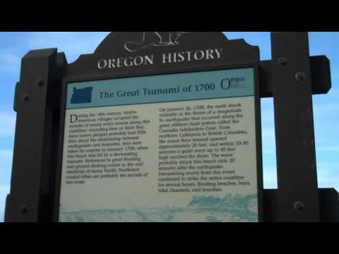 Tsunami History Oregon Coast