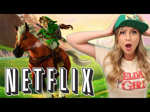 LEGEND OF ZELDA TV SERIES ON NETFLIX!