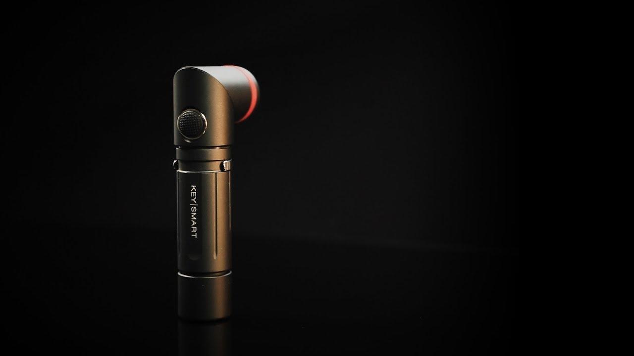 Nano Torch Twist // Compact Flashlight // Black Aluminum video thumbnail