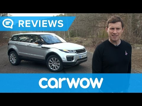 Range Rover Evoque SUV 2018 review | Mat Watson Reviews