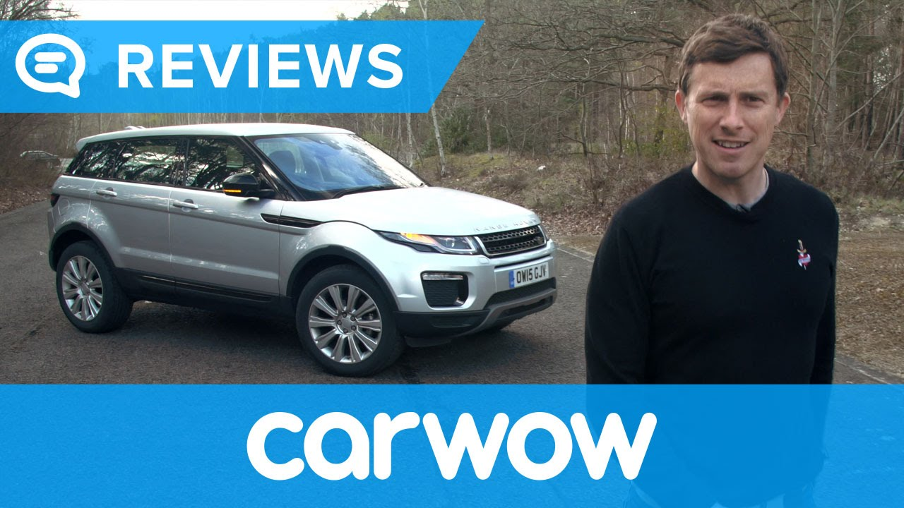 Range Rover Evoque Suv 2018 Review Mat Watson Reviews