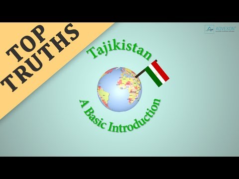 "TAJIKISTAN It's not just ""A"" Country in Central Asia"