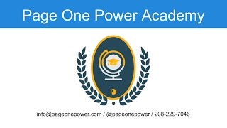 Page One Power Academy:  The Smell Test, Qualifying Target Sites for Link Building