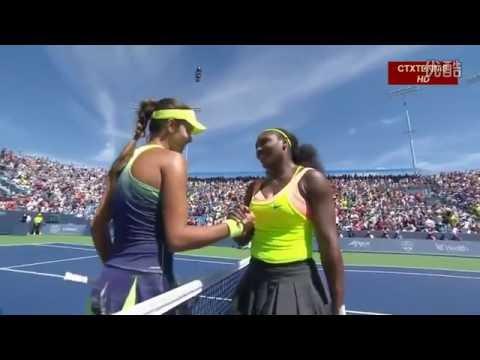 Serena Williams VS Ana Ivanovic Highlight 2015 QF