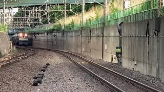 横須賀線E253系グリーン車甲種 北府中駅通過