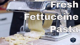 Fresh Fettuccine Recipe - Le Gourmet TV 4K