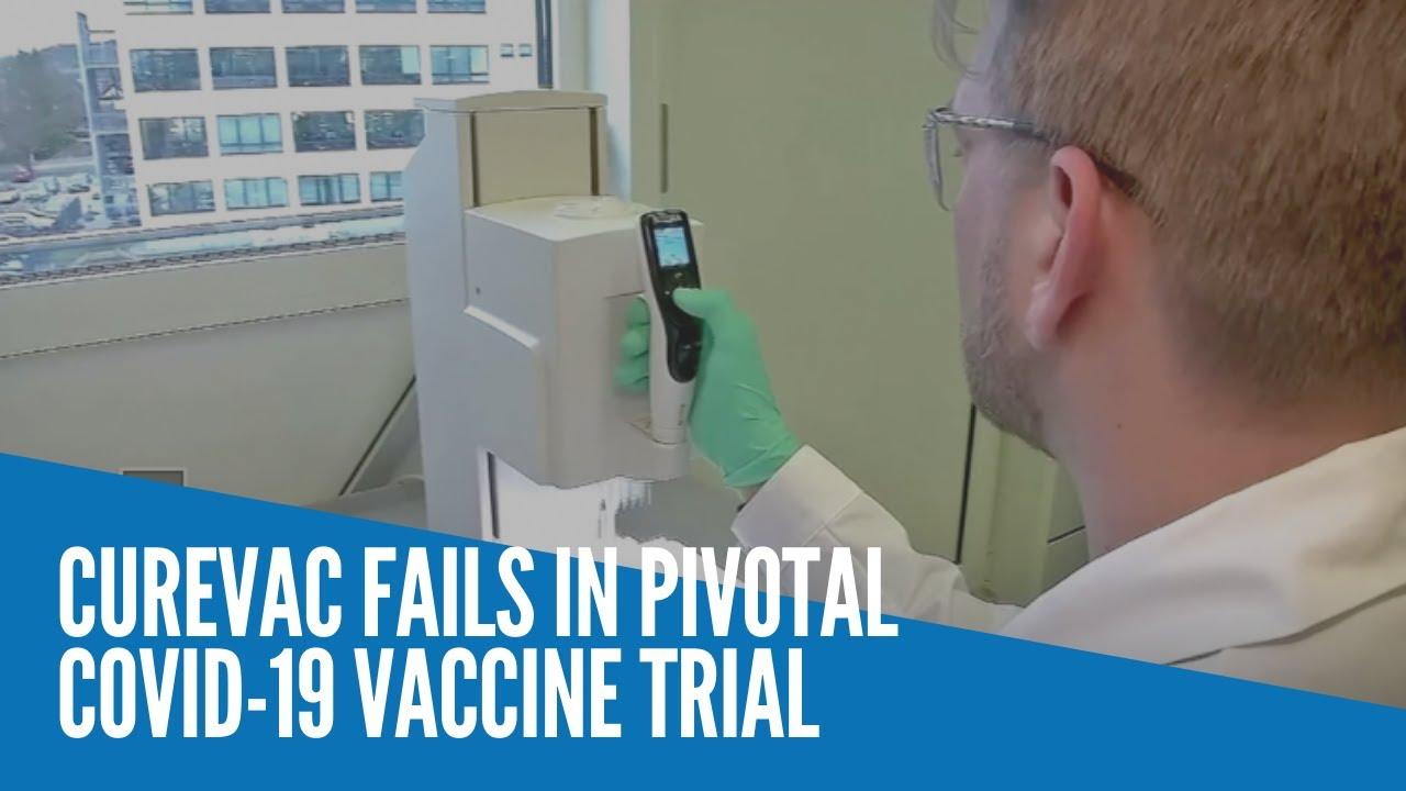 CureVac fails in pivotal COVID-19 vaccine trial - INQUIRER.net