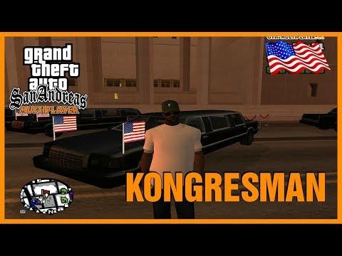 CO DĚLÁ KONGRESMAN NA SERVERU? (GTA San Andreas Multiplayer #37)