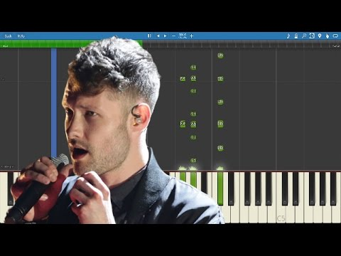 How to play Dancing On My Own on piano - Calum Scott - Piano Tutorial