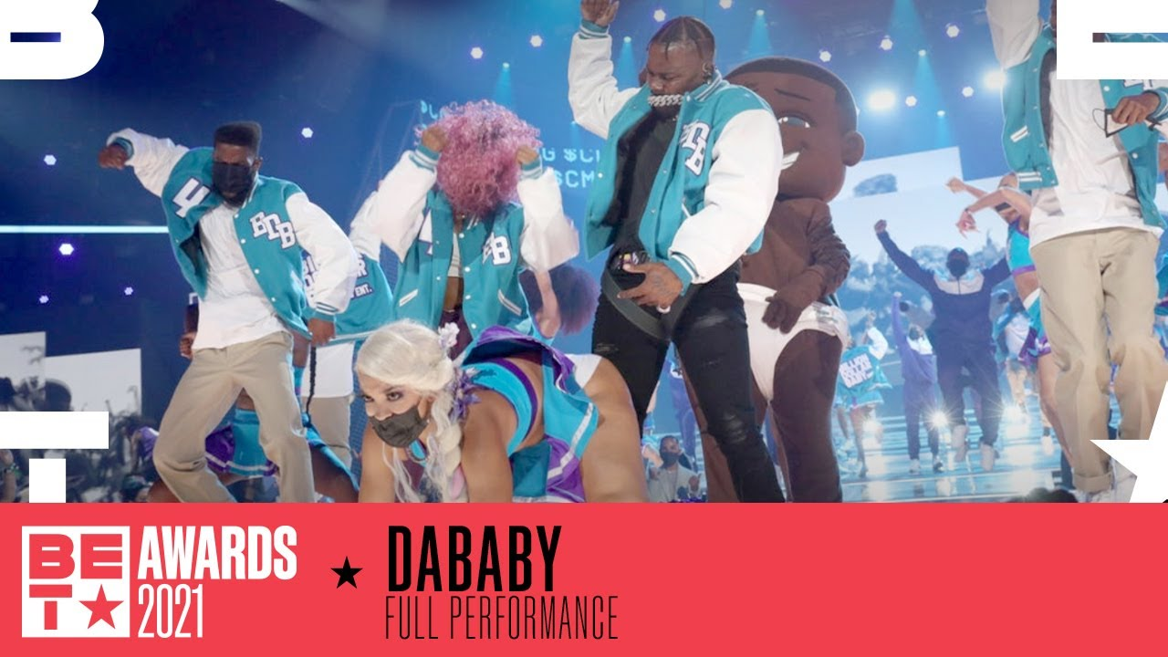 Watch Da Baby In His First Live Performance Of 'Ball If I Want To' | BET Awards 2021