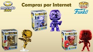 "Unboxing ""Funko Pop Cromados Exclusivos de Australia / Thanos / Ironman"""