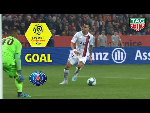 Goal Angel DI MARIA (15') / OGC Nice - Paris Saint-Germain (1-4) (OGCN-PARIS) / 2019-20