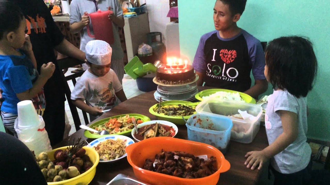 Makan-makan rumah Baiti 11th July 2015