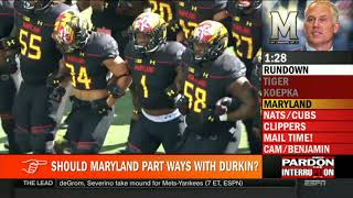Jordan McNair: Biggest questions for Maryland football, DJ Durkin | Pardon the Interruption 08/13