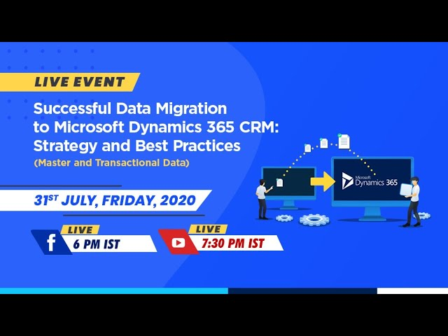 Webinar: Successful Data Migration to Microsoft Dynamics 365 CRM | InSync
