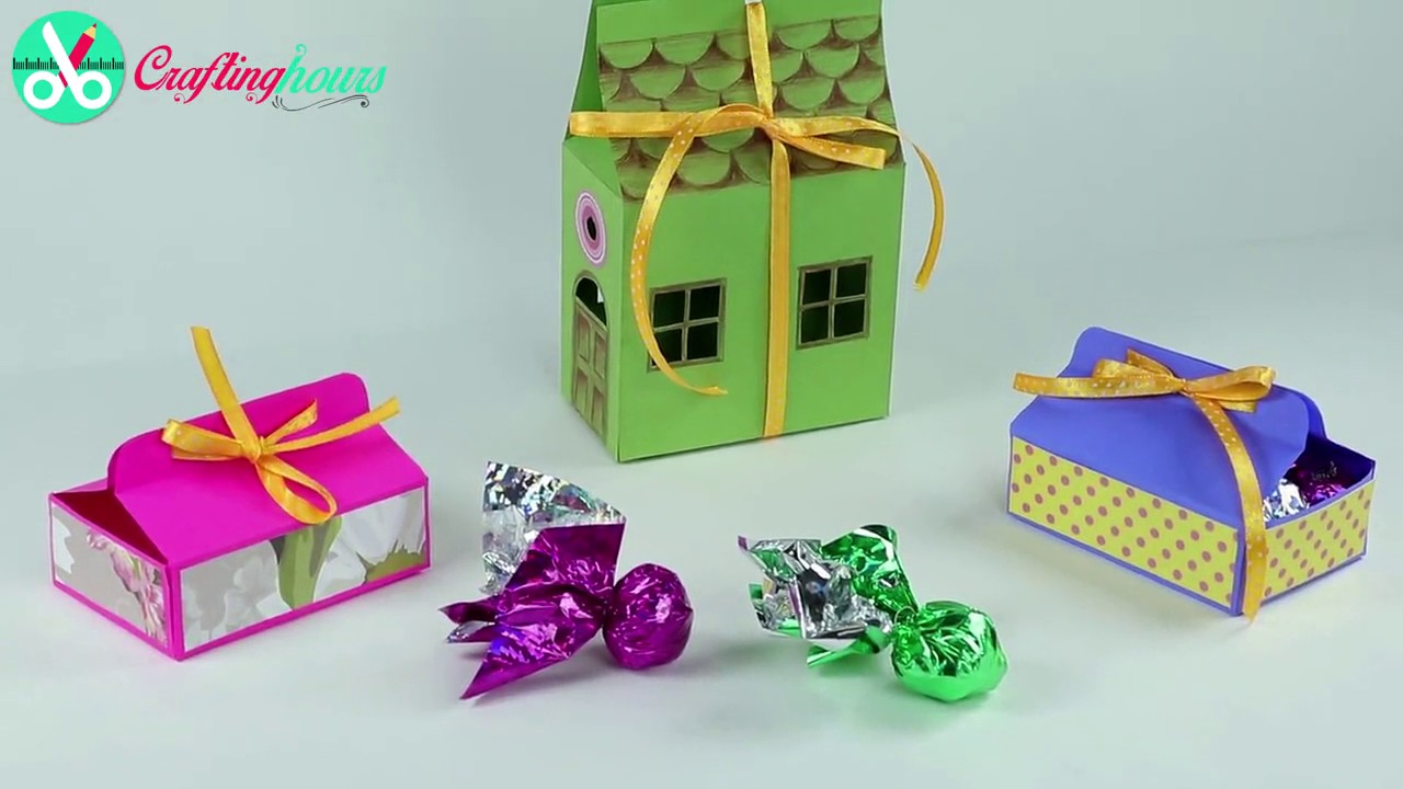 DIY Small Paper Gift Box Ideas Creative Chocolate Packaging