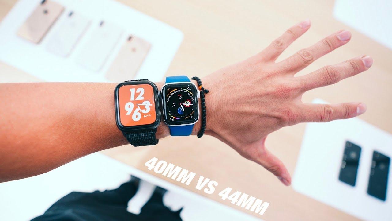 Apple Watch 4 - 40MM vs 44MM